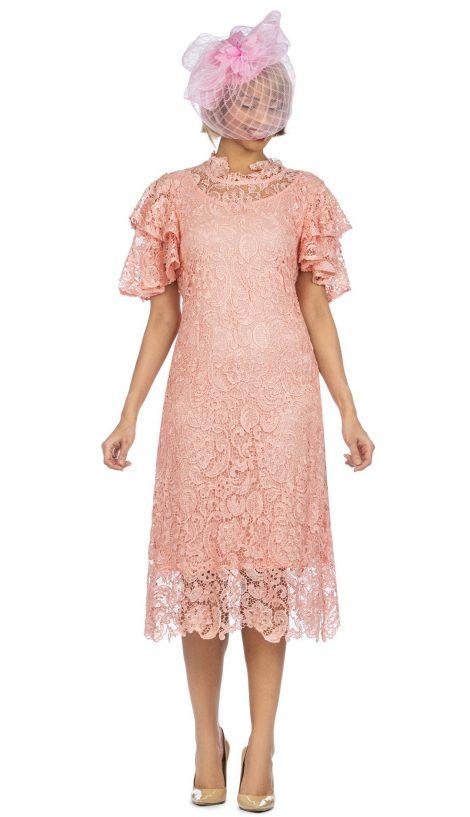 giovanna,d1511, pink lace dress