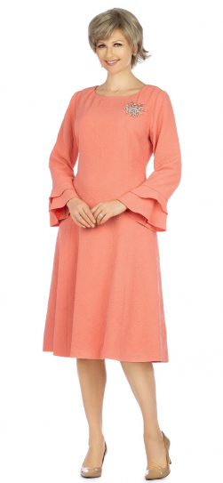 giovanna, d1523, coral dress