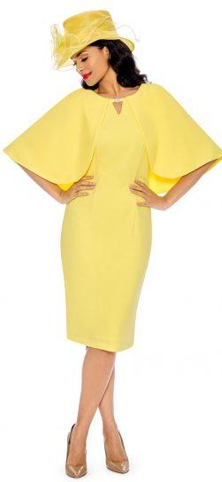 giovanna, d1482, yellow cape dress