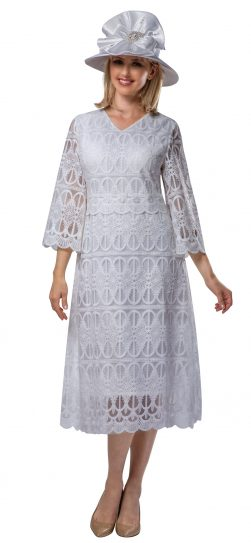 giovanna, d1520, white lace dress