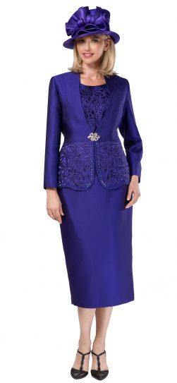 giovanna, g1088, dressy purple church suit