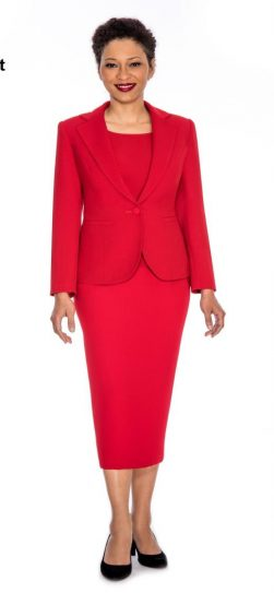 giovanna,skirt suit,0823,red