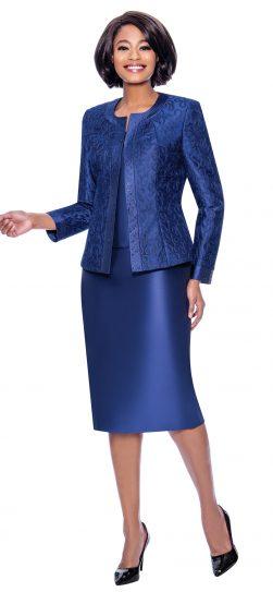 susanna, 3885, navy skirt suit