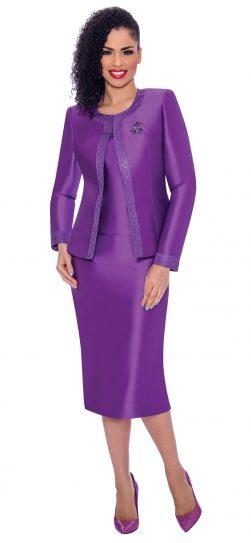 terramina, 7637, dressy purple church suit