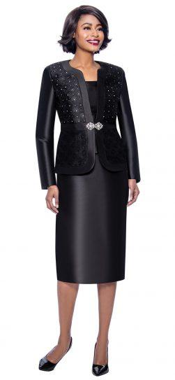 terramina, 7726, black church suit