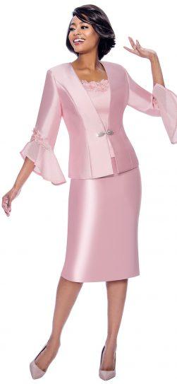 terramina, 7810, rose skirt suit