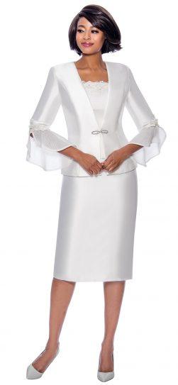 terramina, 7810, white church suit