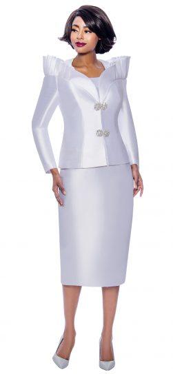 terramina, 7811, white skirt suit