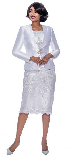 terramina, 7817, white church suit