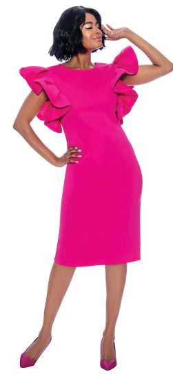 terramina, 7849, fuchsia dress