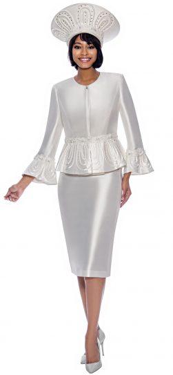 terramina, 7862, pearl dressy skirt suit