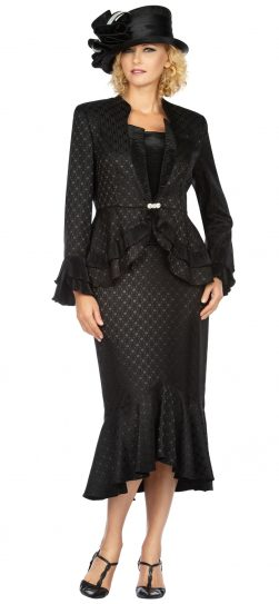giovanna, g1142, dressy black skirt suit